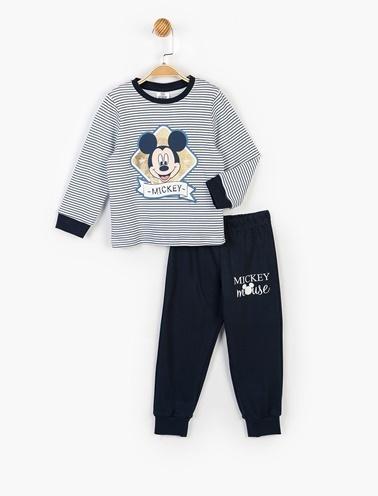 Mickey Mouse 2 li Takım Lacivert